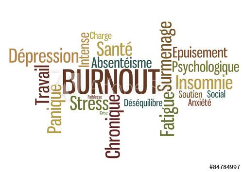 Stress burn out